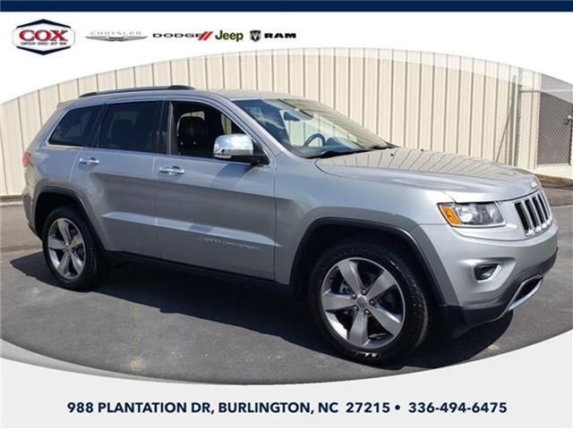 2014 Jeep Grand Cherokee Limited 4x2 Burlington NC