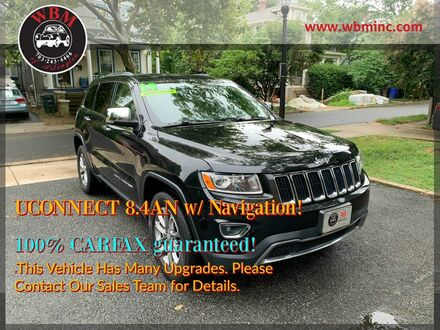 2014_Jeep_Grand Cherokee_Limited_ Arlington VA