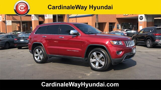 2014 Jeep Grand Cherokee Limited Corona CA
