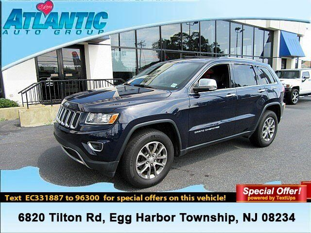2014 Jeep Grand Cherokee Limited Egg Harbor Township NJ