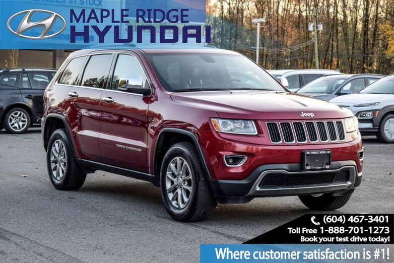 2014 Jeep Grand Cherokee Limited Maple Ridge BC