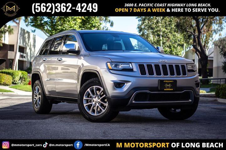 2014 Jeep Grand Cherokee Limited Sport Utility 4D Long Beach CA