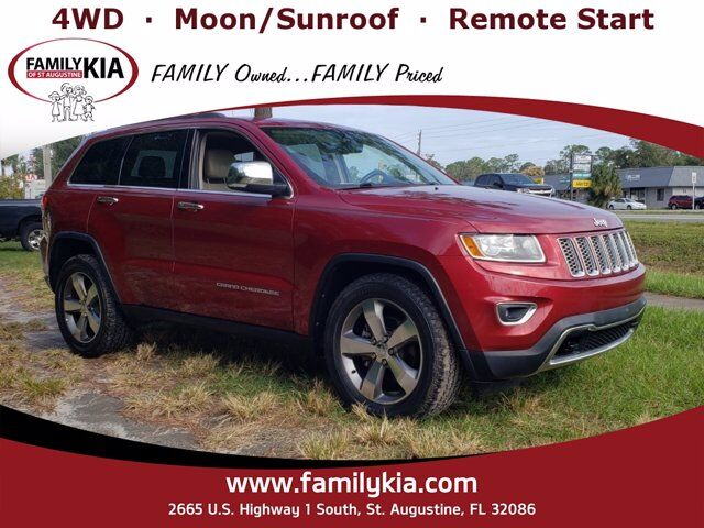 2014 Jeep Grand Cherokee Limited St. Augustine FL