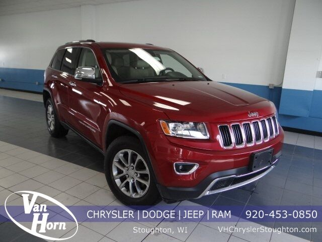 2014 Jeep Grand Cherokee Limited Stoughton WI