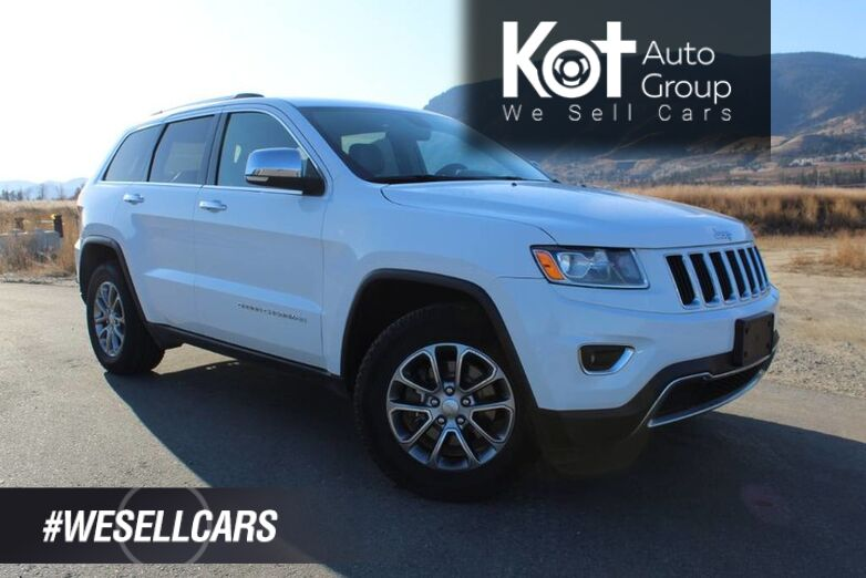 2014 Jeep Grand Cherokee Limited, W/ Studded Winter Tires and A Set of Summers Kelowna BC