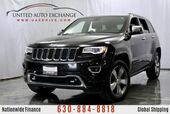 2014 Jeep Grand Cherokee Overland 3.6L V6 Engine / 4WD / Push Start Button / Navigation / Panoramic Sunroof / Rear View Camera / Bluetooth / Heated & Ventilated Leather Seats
