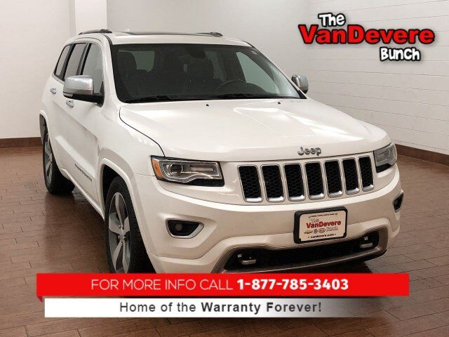 2014 Jeep Grand Cherokee Overland Akron Oh 27917868