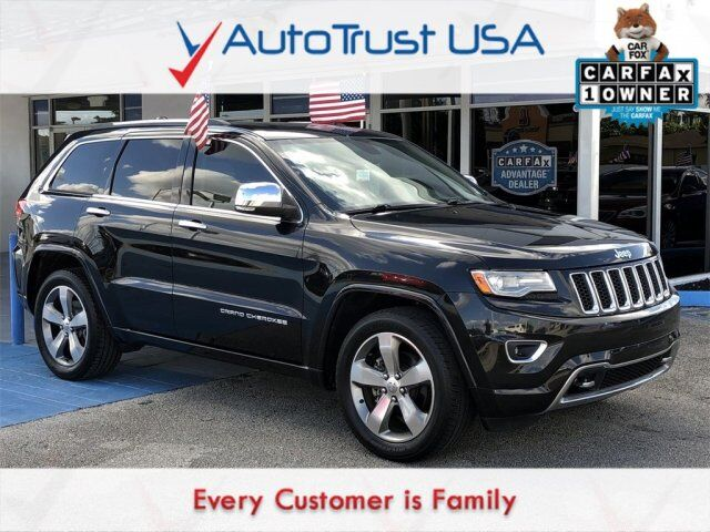 2014 Jeep Grand Cherokee Overland Miami FL