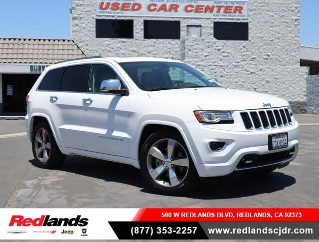 2014 Jeep Grand Cherokee Overland Redlands CA