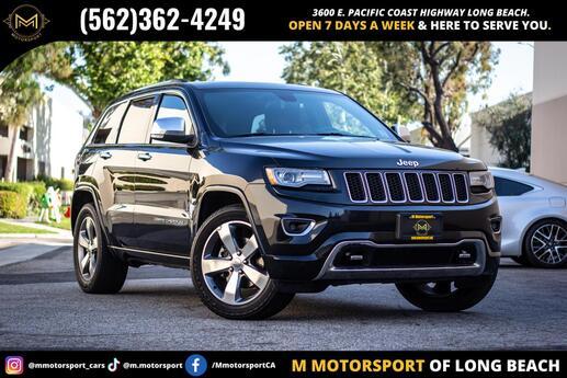 2014 Jeep Grand Cherokee Overland Sport Utility 4D Long Beach CA