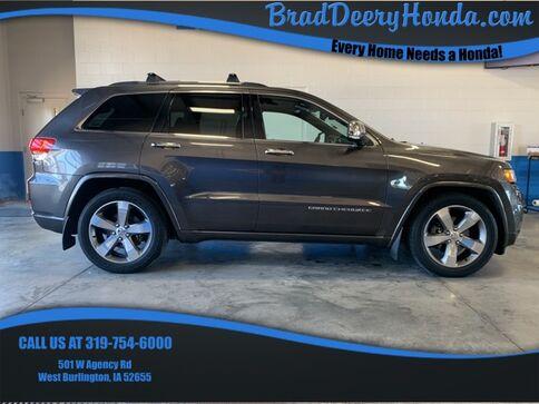 2014_Jeep_Grand Cherokee_Overland_ West Burlington IA