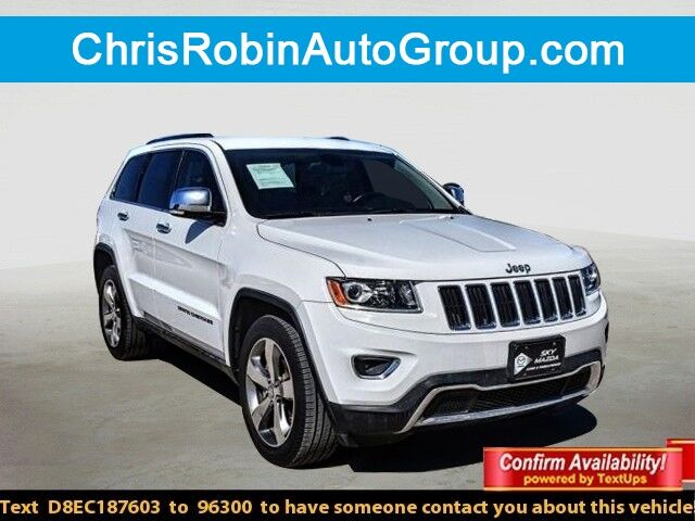 2014 Jeep Grand Cherokee RWD 4DR LIMITED Odessa TX