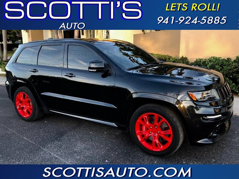 2014 Jeep Grand Cherokee SRT8 6.4L HEMI V8! 470 HP! 1 OWNER! CLEAN CARFAX!