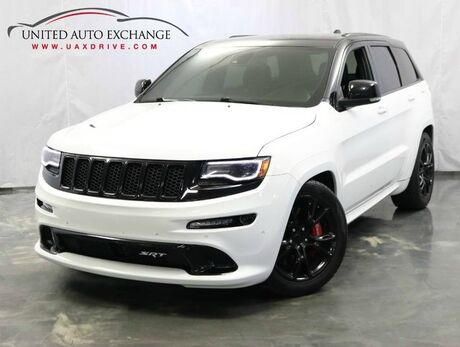 2014 Jeep Grand Cherokee SRT8 / 6.4L V8 Hemi Engine / AWD / Panoramic Sunroof / Navigation / Parking Aid with Rear View Camera / Push Start / Bluetooth Addison IL