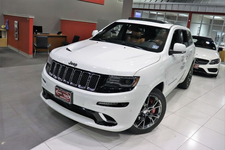2014 Jeep Grand Cherokee SRT8 High Performance Audio Panoramic Roof Laguna Leather Seats 20 inch Wheels Navigation Backup Camera Springfield NJ