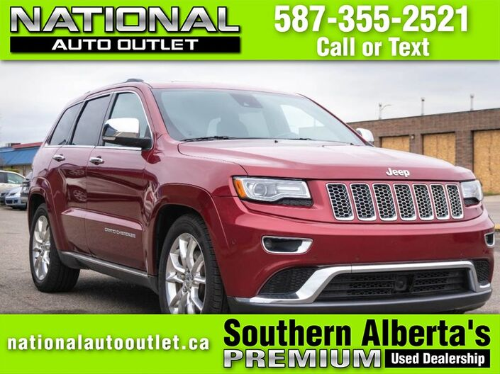 2014 Jeep Grand Cherokee Summit- DIESEL - HEATED LEATHER SEATS - HEATED STEERING WHEEL - Lethbridge AB