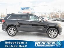 2014_Jeep_Grand Cherokee_Summit 4x4, One Owner, No Accidents, Pano Sunroof, Nav, Heated/Cooled Leather, Remote Sta_ Calgary AB