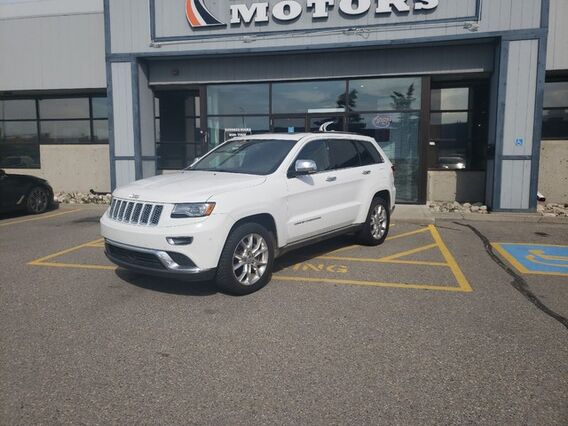 2014_Jeep_Grand Cherokee_Summit_ Calgary AB