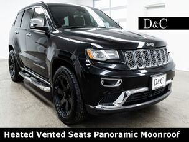 2014 Jeep Grand Cherokee Summit Heated Vented Seats Panoramic Moonroof