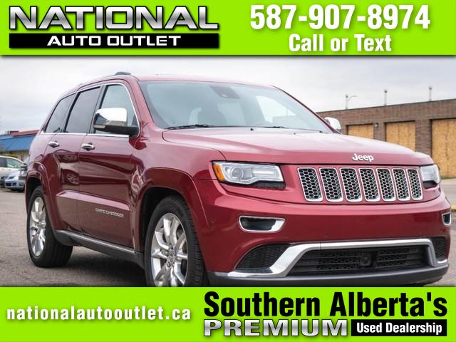 2014 Jeep Grand Cherokee Summit Lethbridge AB