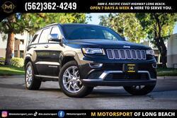 Jeep Grand Cherokee Summit Sport Utility 4D 2014