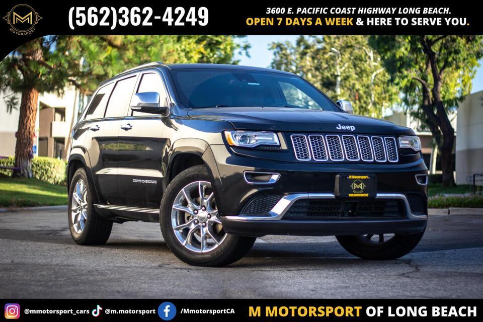 2014_Jeep_Grand Cherokee_Summit Sport Utility 4D_ Long Beach CA