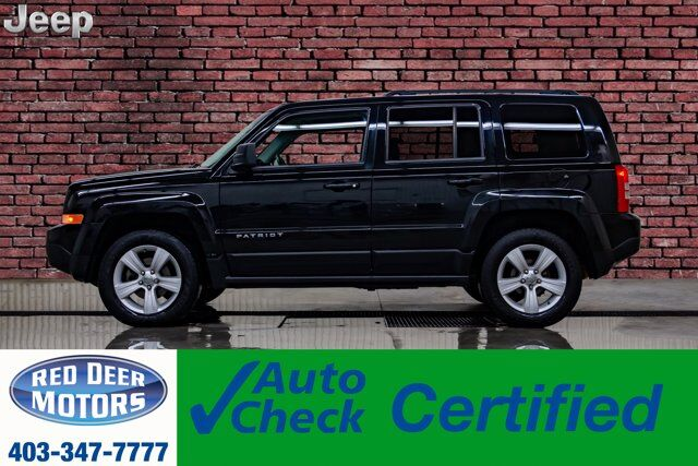 2014 Jeep Patriot 4x4 North All Season Remote Start Red Deer AB