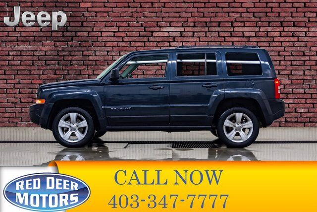 2014 Jeep Patriot 4x4 North Roof Red Deer AB