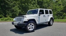 2014_Jeep_WRANGLER UNLIMITED_SAHARA 4X4 / NAV V6 / AUTO / MATCHING TOP / REMOTE START_ Charlotte NC