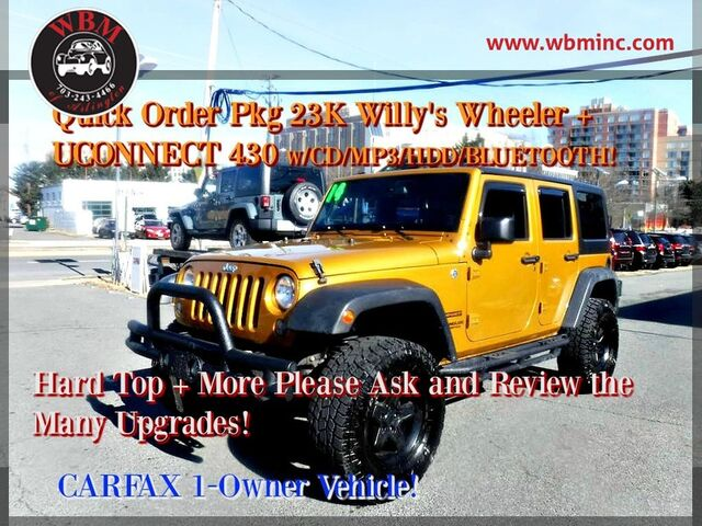 2014 Jeep Wrangler 4WD Unlimited Sport Arlington VA