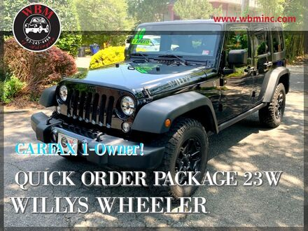 2014_Jeep_Wrangler_4WD Unlimited Willys Wheeler_ Arlington VA