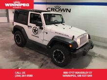 2014_Jeep_Wrangler_Rubicon/Manual/Navigation/Hard and Soft top_ Winnipeg MB