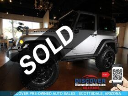 2014_Jeep_Wrangler_Rubicon w/Off-Road Lift_ Scottsdale AZ