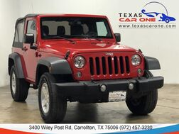 2014_Jeep_Wrangler_SPORT 4WD SOFT TOP CONVERTIBLE BLUETOOTH CRUISE CONTROL ALLOY WH_ Carrollton TX