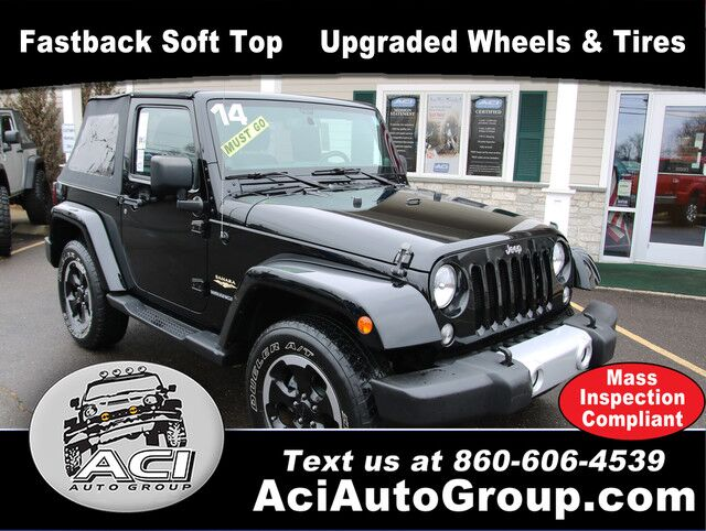 2014 Jeep Wrangler Sahara East Windsor CT