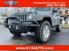 2014 Jeep Wrangler Sport 4WD Ulster County NY