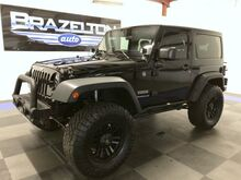 2014_Jeep_Wrangler_Sport, Lift, Wheels, Tires, Bumpers, LED Lights, LOW MILES_ Houston TX