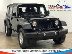 2014_Jeep_Wrangler_UNLIMITED SPORT 4WD AUTOMATIC SOFT TOP CONVERTIBLE BLUETOOTH CRU_ Carrollton TX