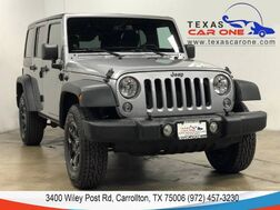 2014_Jeep_Wrangler_UNLIMITED SPORT 4WD HARD TOP CONVERTIBLE BLUETOOTH CRUISE CONTROL ALLOY WHEELS_ Carrollton TX