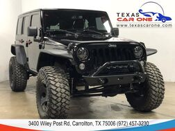 2014_Jeep_Wrangler_UNLIMITED SPORT 4WD HARD TOP CONVERTIBLE CRUISE CONTROL ALLOY WH_ Carrollton TX