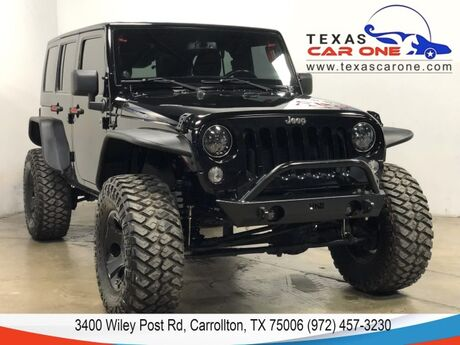 2014 Jeep Wrangler UNLIMITED SPORT 4WD HARD TOP CONVERTIBLE CRUISE CONTROL ALLOY WH Carrollton TX