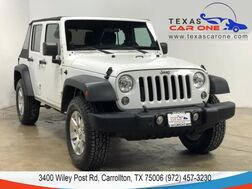 2014_Jeep_Wrangler_UNLIMITED SPORT 4WD SOFT TOP CONVERTIBLE BLUETOOTH ALLOY WHEELS_ Carrollton TX