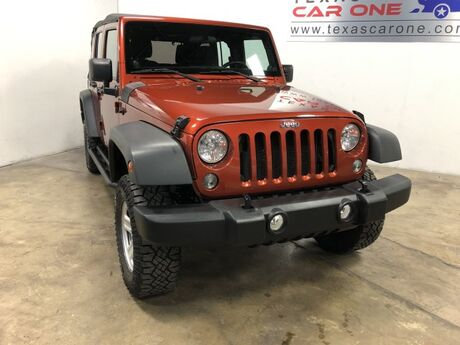 2014 Jeep Wrangler UNLIMITED SPORT 4WD SOFT TOP CONVERTIBLE TOW HITCH CRUISE CONTRO Carrollton TX
