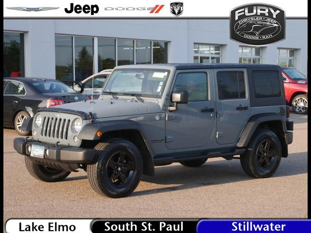2014 Jeep Wrangler Unlimited 4WD 4dr Sport St. Paul MN