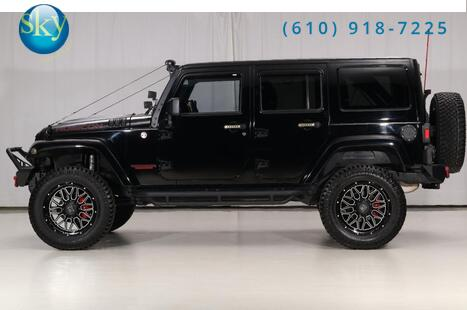 2014 Jeep Wrangler Unlimited 4WD Rubicon CUSTOM LIFTED West Chester PA