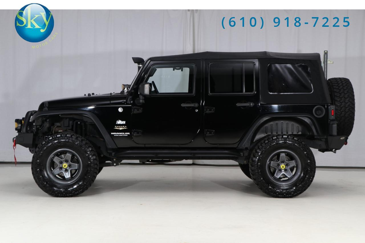 2014 Jeep Wrangler Unlimited 4WD Sahara JK 6MT CUSTOM MODIFIED West Chester PA