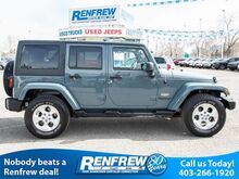 2014_Jeep_Wrangler Unlimited_4WD Sahara, Navigation, Bluetooth, Heated Leather Seats, Remote Start_ Calgary AB