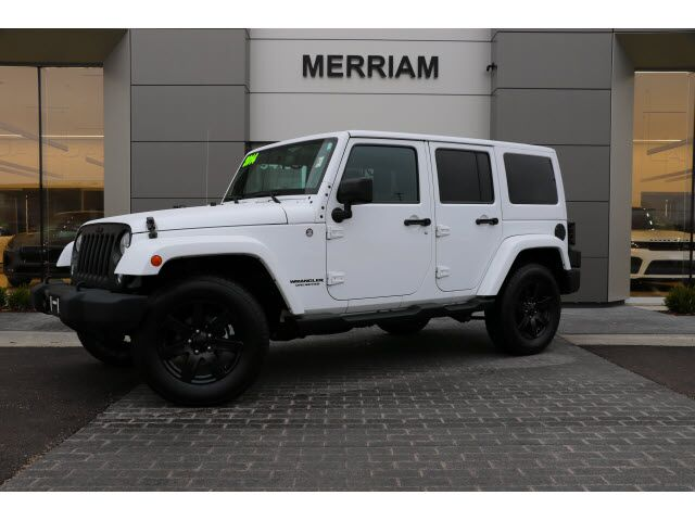 2014 Jeep Wrangler Unlimited Altitude Edition Merriam KS