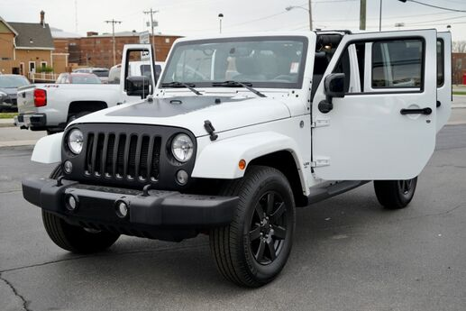 2014 Jeep Wrangler Unlimited Altitude Fort Wayne Auburn and Kendallville IN
