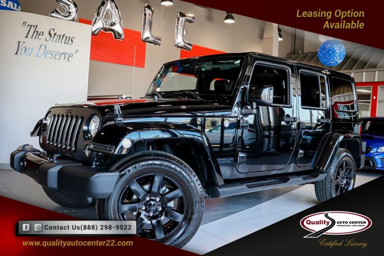 2014 Jeep Wrangler Unlimited Altitude Quick Order Pkg, Hard Top 1-Owner Springfield NJ